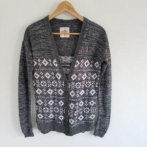 Hollister Button Down Longsleeve Cardigan Sweater